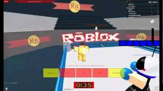 ROBLOX - trex knows the art of boxing?!