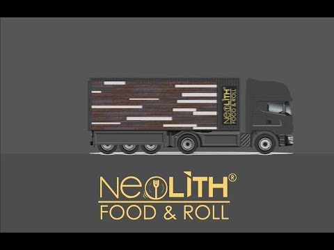 Neolith Food and Roll Presentation