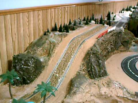 slot car rally track tour