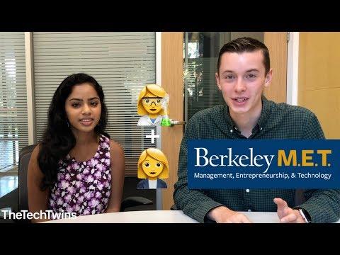 What is UC Berkeley M.E.T. + Application Advice (feat. Deepshika) - TheTechTwins