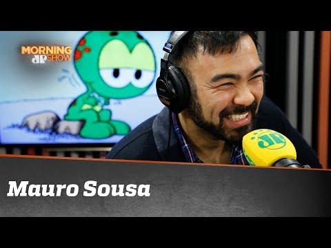 Mauro conta como é ser filho de Maurício de Sousa