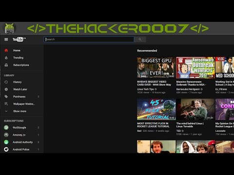 How to Enable Youtube's New Dark Look