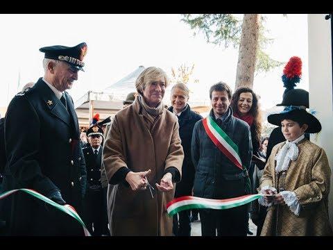 inaugurazione caserma carabinieri pinerolo