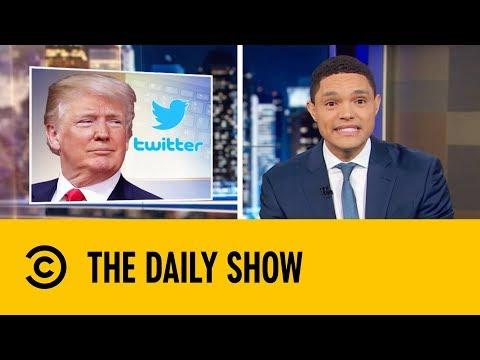 Donald Trump's 50 Tweet Tirade | The Daily Show with Trevor Noah