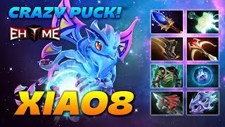 xiao8 Puck Crazy 8 slotted Dragon - Dota 2 Pro Gameplay