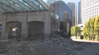 Demolition of Howard Street Overpass