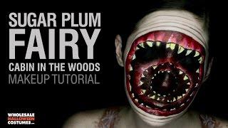 cabin in the woods sugar plum fairy makeup tutorial ft caitlyn kreklewich   whcdoessfx