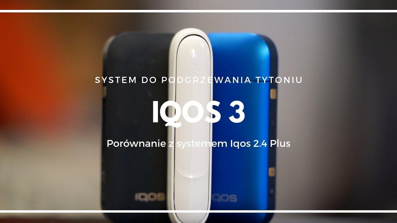 IQOS 3 vs IQOS 2 4 Plus - porównanie