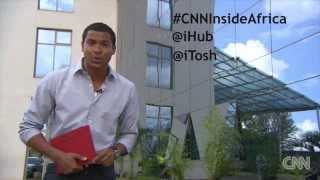#INSIDE AFRICA-THE KENYA EDITION. [CNN's Errol Barnett at the Google Africa Office]