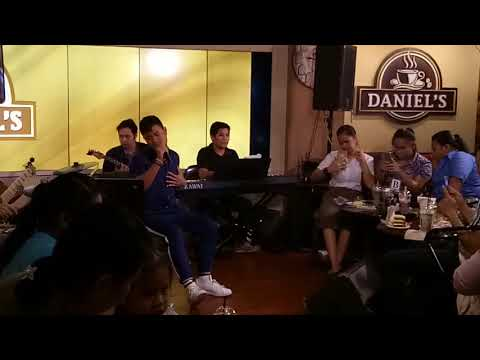 One Last Cry - Bugoy Drilon LIVE AT DANIEL'S COFFEE