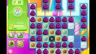Candy Crush Jelly Saga LEVEL 198 ★★★ STARS ( No boosters )
