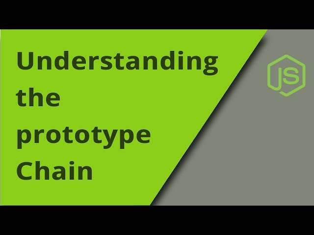 Understanding the JavaScript Prototype Chain