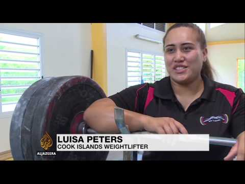 Weightlifting craze sweeps Pacific Islands