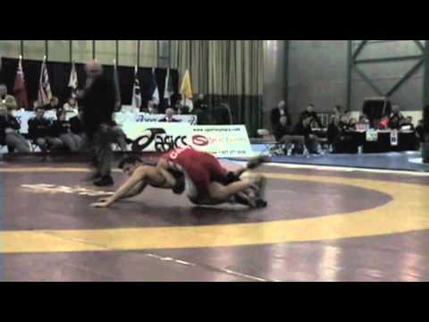 2009 Senior National Championships: 60 kg Final Saeed Azarbayjani vs. James Mancini