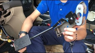 How To Remove Accelerator Gas Pedal Assembly Honda Accord | DIY Auto Repair Young Mechanic Aiman