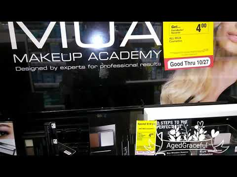 MUA COSMETICS BY CVS STORES HITS THE GREATER DETROIT AREA!!!