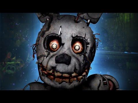 Five Nights at Freddy's 3 Secret Glitches [New Animatronic] PARODY