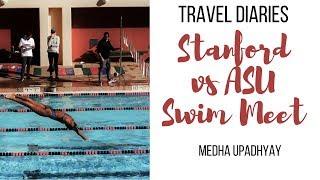 Stanford-ASU dual swim meet: Travel Diaries