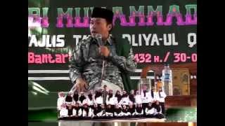 KH. Musthofa Aqil Siradj dalam rangka Haflah Khotmil Qur