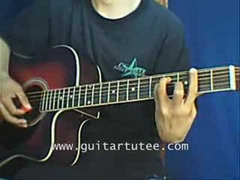 Violet Hill (of Coldplay, by www.GuitarTutee.com)