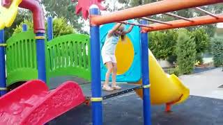 Learn colors Melissa with playground Funny Video For Kids - Melissa Tv