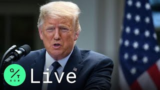 LIVE: Trump Delivers Remarks on Coronavirus Testing in the White House Rose Garden