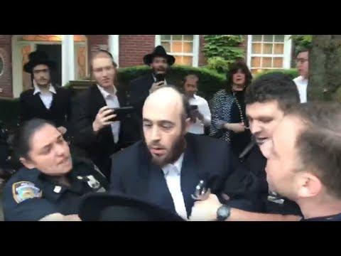 NYPD Wild Arrest of Hasidic Man in Boro Park