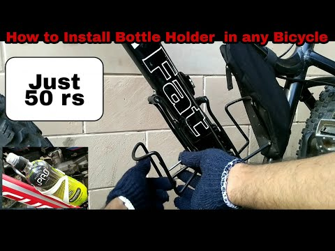 How to Install Bottle Holder in any Bicycle