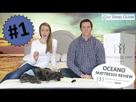 NEW! Oceano by Brentwood Home Mattress Review & COUPON CODE