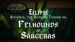 Guild 1st Kill: Felhounds of Sargeras (N) - Affliction Warlock POV