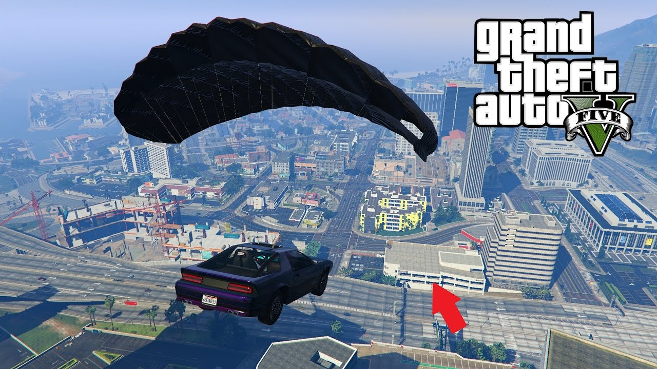 gta 5 nouvelle voiture parachute epic stunt et course poursuite youtube. Black Bedroom Furniture Sets. Home Design Ideas