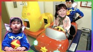 라임이의 번개맨 자동차 장난감 놀이 Ride Car Toys Play  LimeTube & Toy おもちゃ 라임튜브 Игрушки