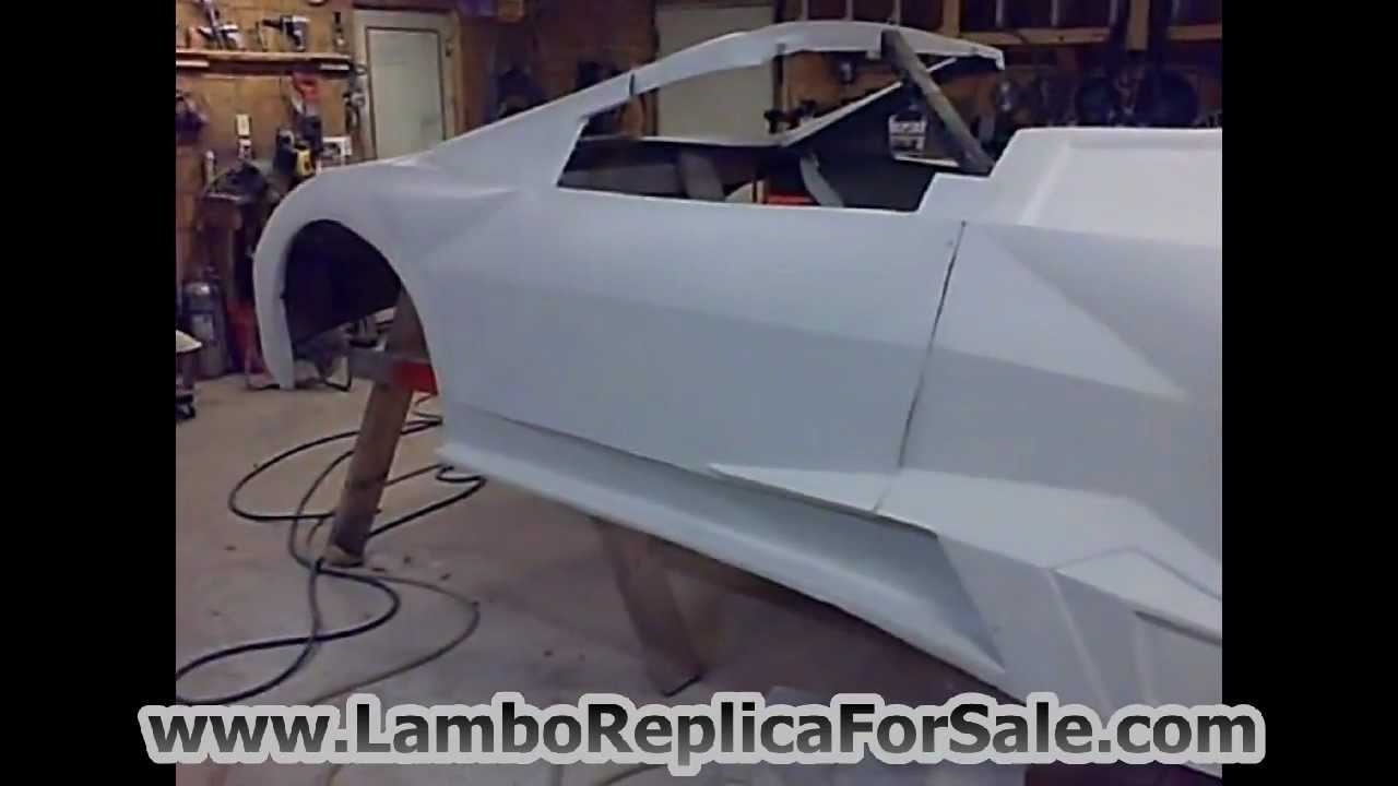 Lamborghini Reventon Replica Kit Car Body For Sale On Ebay Rarer