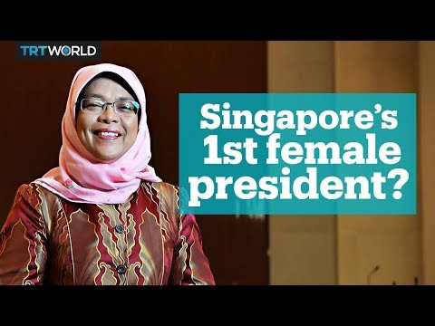 Singapore could have its first female president