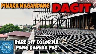PINAKA MAGANDANG DAGIT, RARE OFF COLOR NA PANG KARERA PA!!