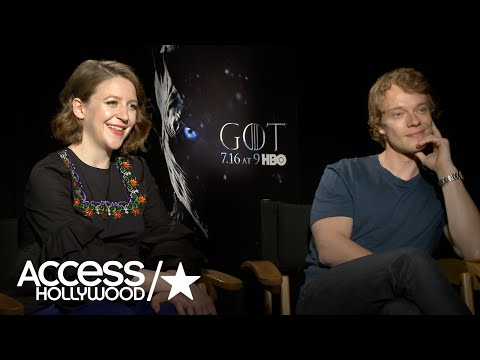 'Game Of Thrones': Gemma Whelan & Alfie Allen On The Emotions Of Yara & Theon's S6 Reunion