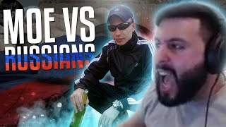 m0E VS RUSSIANS! CS:GO