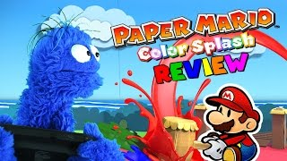 Paper Mario Color Splash Review │ Splash, or Trash? (Or 'Stache?)