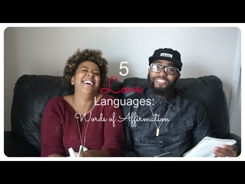 5 Love Languages: Words of Affirmation