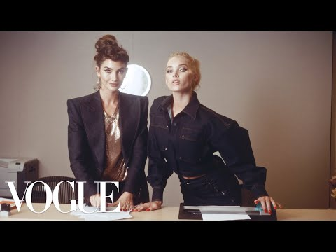 Workin' 9 to 5: Inside the Vogue Office! ft. Kate Upton, Elsa Hosk, Joan Smalls & More | Vogue
