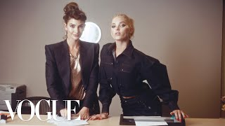 On the final day of the New York Spring collections, director Charlotte Wales and Fashion Editor Jorden Bickham asked Kate Upton, Joan Smalls, Elsa Hosk, ...