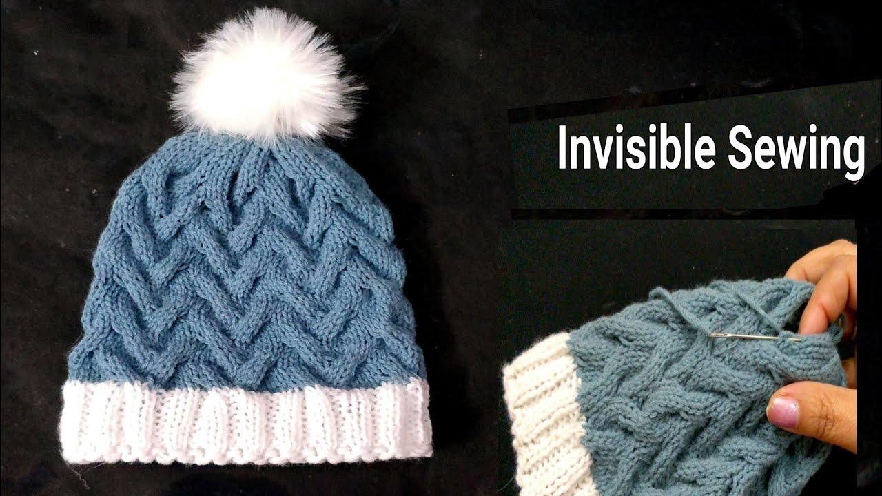 d84ba08dbe421 Read PDF Knitting Pattern Pink Ladys Hat in Small Twists Stitch