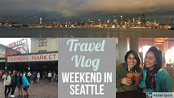 WEEKEND IN SEATTLE | Pike Place  Market, Kayak Sunset Tour, Fremont Street Market | Brittnissx3