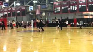 Newcomers' Rumba Final, MIT Ballroom. Dance competition, Ma