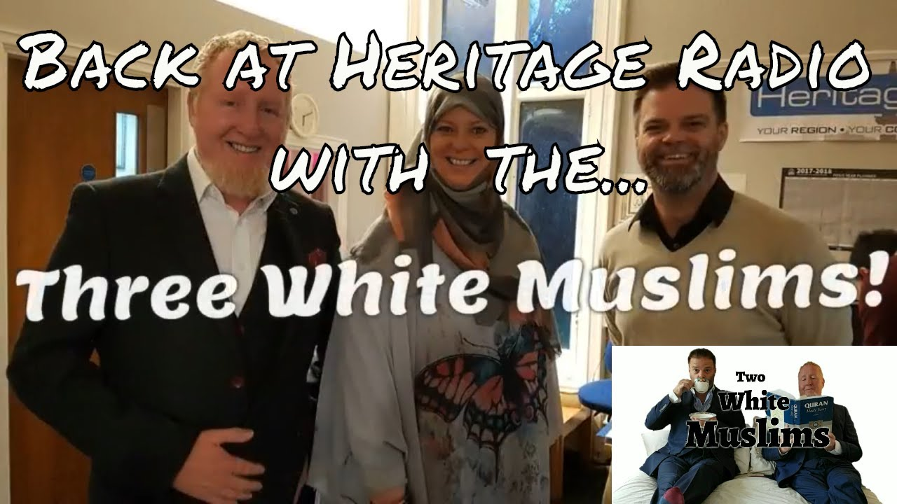 Back at Heritage Radio with the Two White Muslims