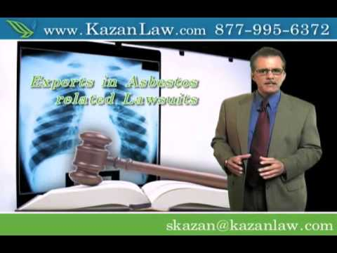 Asbestos Law Firm For Mesothelioma Exposure Victims - video