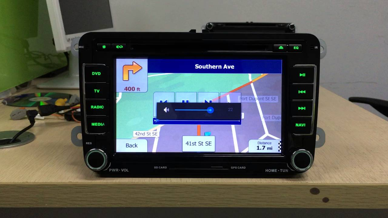 How to install GPS navigation software and set navi button on1024*600  android 4 4 car stereo