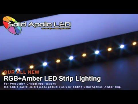 Rgb A Led Strip Light Solid Apollo
