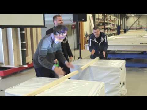 Optimera Byggsystemer Tysnes Fabrikkåpning
