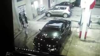 Epic Shootout At A Atlanta Gas Station (AK-47)